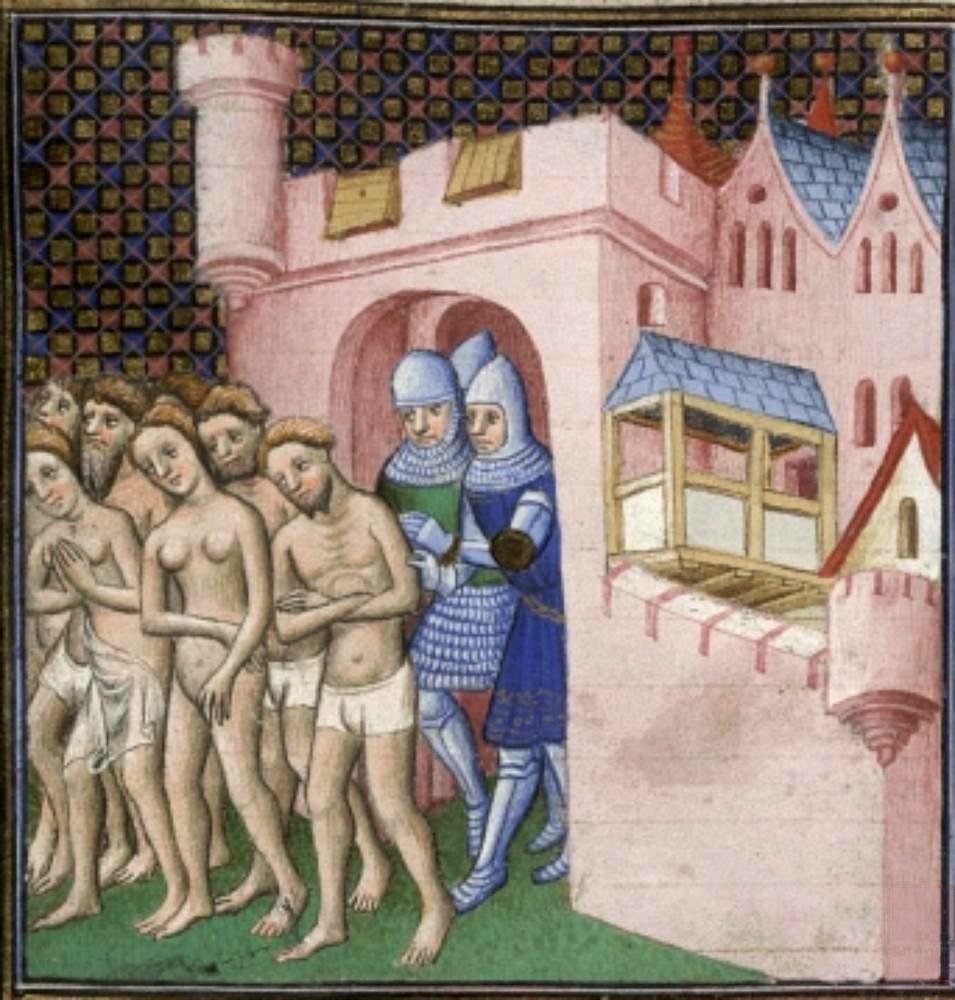Expulsión de los albirgense de Carcassonne