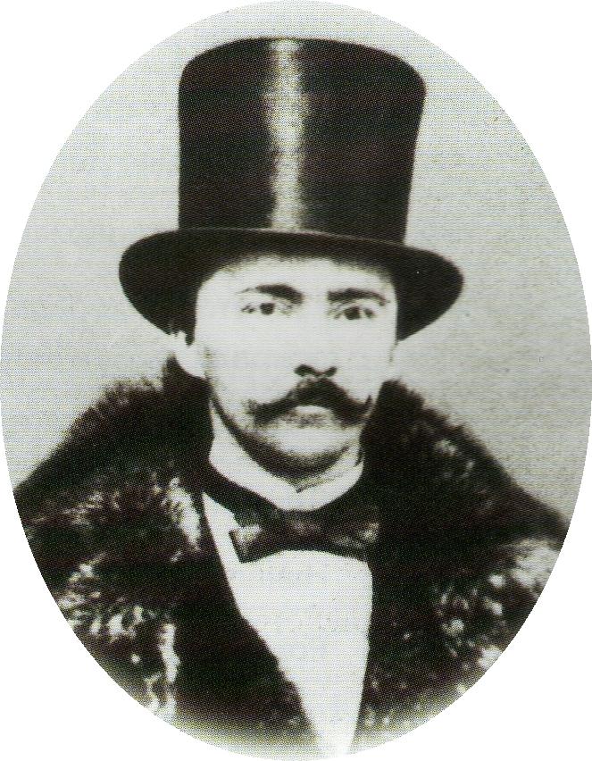 Fotografía de Schliemann descubridor de Troya