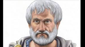 Ilustración de la cara de Aristóteles