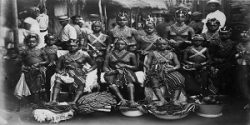 Mujeres liberianas en 1910