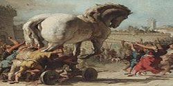¿Existió el caballo de Troya?
